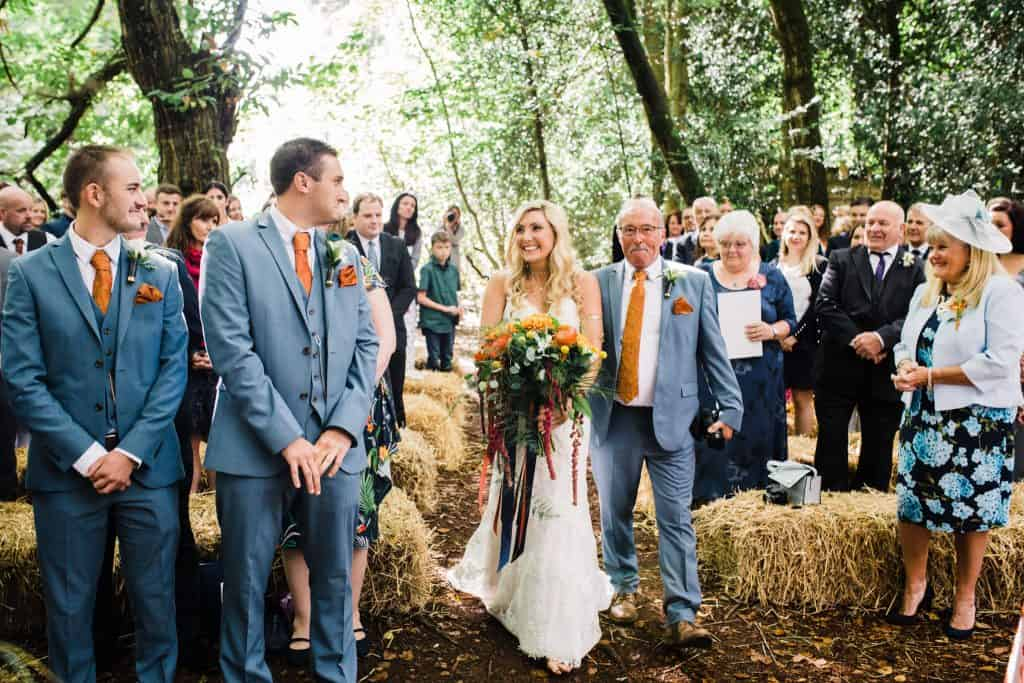 Weddings in the woods photographer