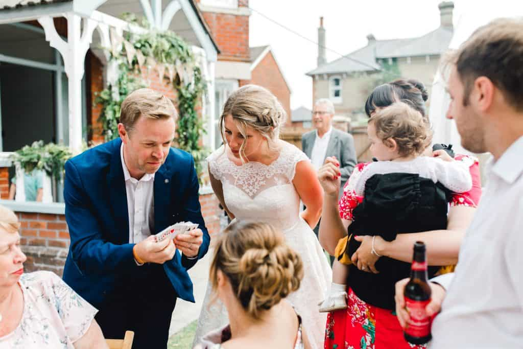 relaxed romsey wedding photography
