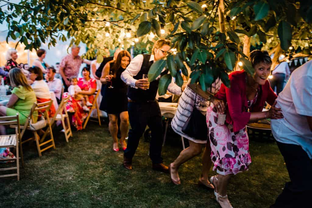 Conga at your wedding