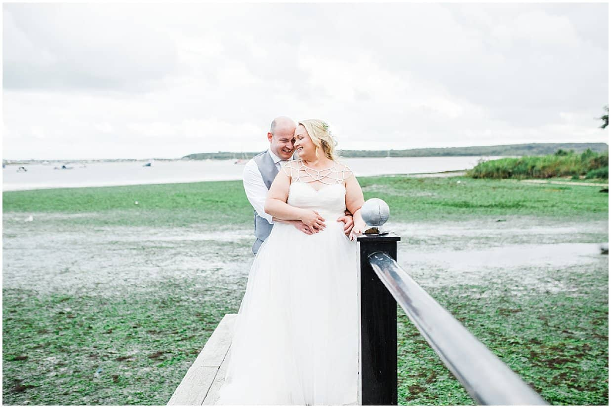 Christchurch Harbour hotel wedding photographer