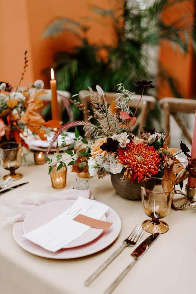 Wilshire wedding decor
