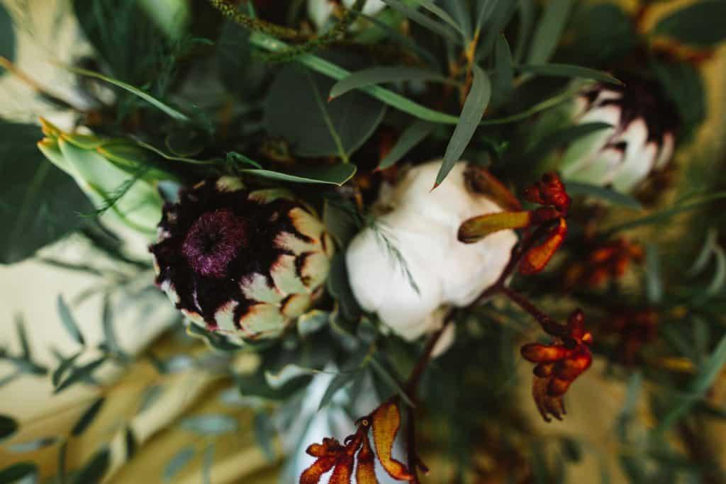 Wedding flowers at Crown hotel Blandford