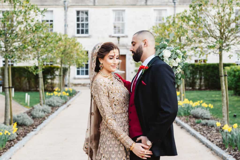 Asian wedding at froyle park