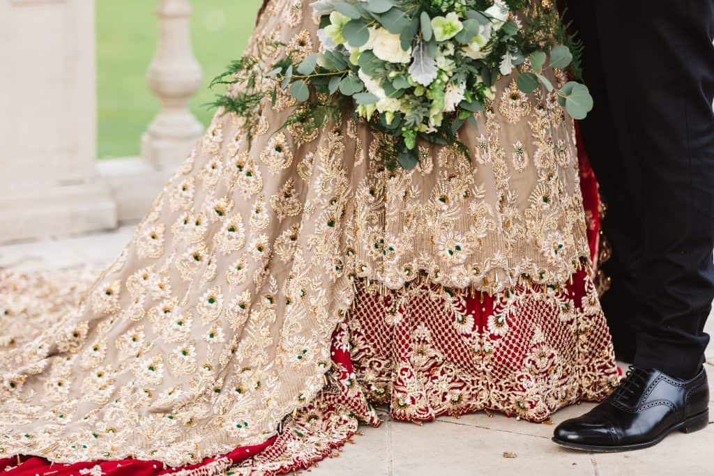 Stunning indian wedding dress